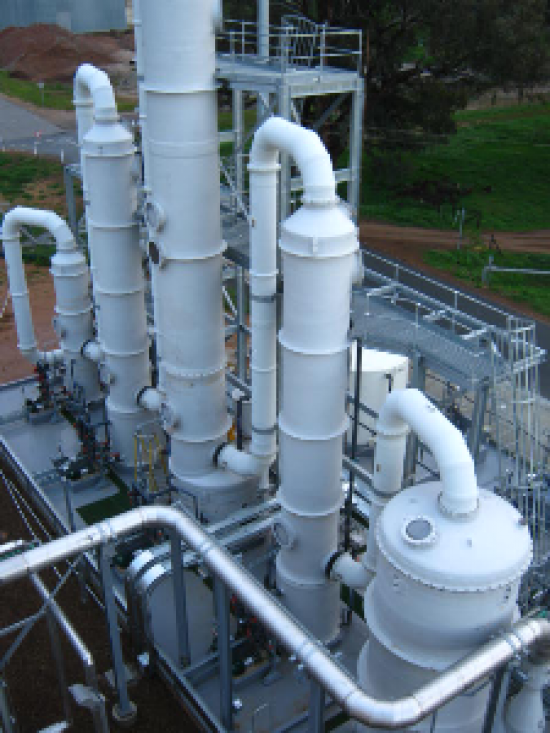 Multi-Stage Chemical Scrubbers